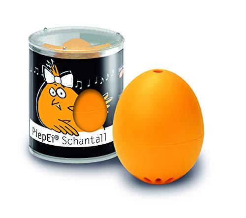 Brainstream PiepEi Schantall, Eieruhr zum mitkochen für das perfekte mittelweiche Ei, A000324