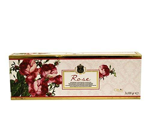 OLIVOS Lux Line Savon Rose 3 x 100 g