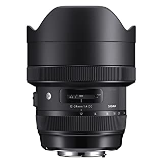 Sigma 12-24 mm F4 DG HSM Art Nikon Mount Lens - Black