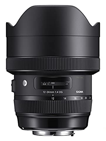 Sigma 12-24mm F4,0 DG HSM Art fürNikon Objektivbajonett schwarz