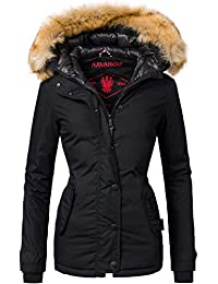Navahoo Damen Winter Jacke Winterparka Laura 12 Farben XS-XXL