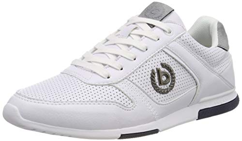 bugatti Herren 321732015900 Sneaker, Weiß, 43 EU