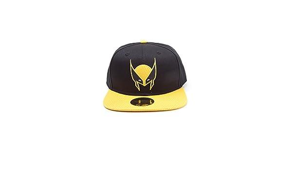 58a257d314c Meroncourt Marvel Comics X-Men Wolverine Mask Snapback Baseball Cap ...