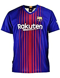 Camiseta 1ª Equipación Replica Oficial FC BARCELONA 2017-2018 Sin Dorsal  LISO - Tallaje ADULTO 1a388fa82ae