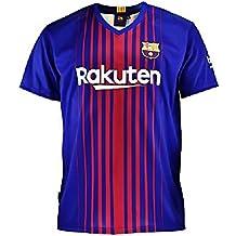 Camiseta 1ª Equipación Replica Oficial FC BARCELONA 2017-2018 Sin Dorsal LISO - Tallaje ADULTO