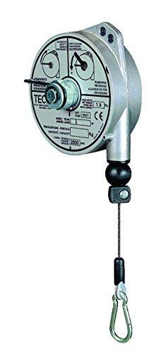 Compensatore primavera con Custodia alluminio e Corda in acciaio inox Portata 2,0-4,0kg