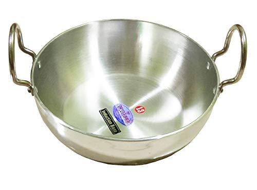 indischen Kadai, Bratpfanne, Aluminium indischen Kadai, Aluminium Kadai 10-zoll-stir Fry Pan