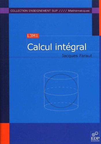 Calcul intégral (L3M1)