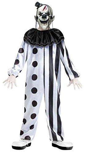 Fun World Killer Clown Child Costume Large (12-14) by Fun World