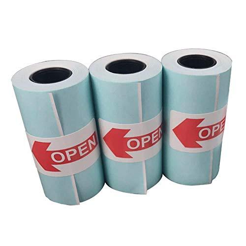 15 Stück Selbstklebend Thermopapierrollen 57mm X 30mm Additionsrollen - Aufkleber Thermodruckpapier...