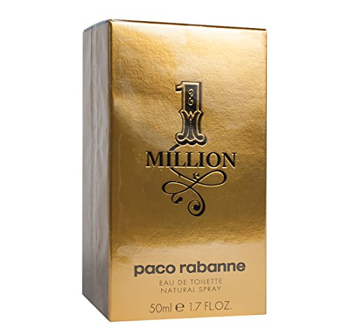 Paco Rabanne 1 MILLION EAU DE TOILETTE SPRAY (1.7oz) 50ml