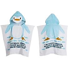Encantador Bebé Animal Toalla Playa Ponchos encapuchados baño toalla de baño ...