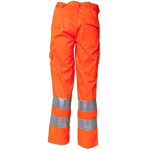 Planam Bundhose Warnschutz, Größe 44, 1 Stück, gelb, 2012044 orange