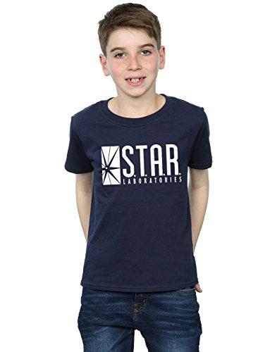 DC Comics Jungen The Flash Star Labs T-Shirt 12-13 years Marine
