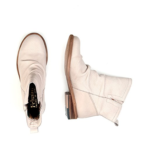 avec Bomber Biker Chaussures Véritable Bottes amour Tomber 8950 Femme Felmini en Cuir Cowboy Beige Beige nSaXwqYUn1