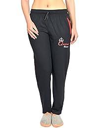 HARDIHOOD LOWER LADIES/WOMEN'S/GIRLS COMFORTABLE COTTON BLACK TRACK PANTS PYJAMA ( L,XL, XXL SIZES ) Regular Length