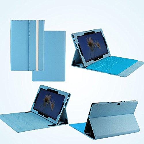 Surface 64gb Rt Microsoft Tablet (Navitech Schutzhülle aus Kunstleder für Microsoft Surface Pro 64GB/ 128GB Windows8 (nicht geeignet für Surface RT) Blau blau)