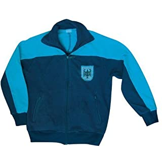 A. BLÖCHL Original Used Training and Sports Jacket of The German Bundeswehr (Blue/52)