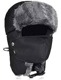 0847b4ba4a9 Amazon.co.uk  Bomber Hats  Clothing