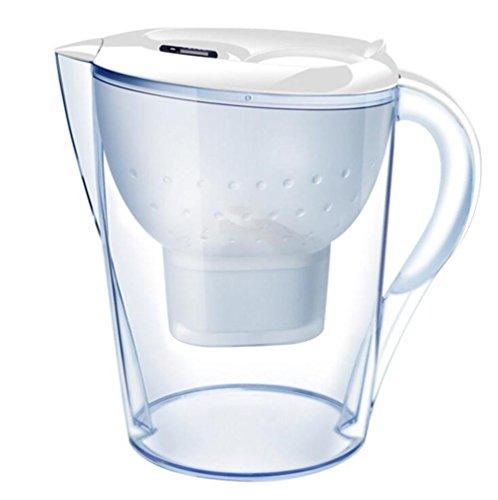 LDMB Filtre à eau Tamis Bouteille d'eau Cuisine domestique Filtre à charbon activé Filtre à pot Pot Purificateur d'eau , tianli003