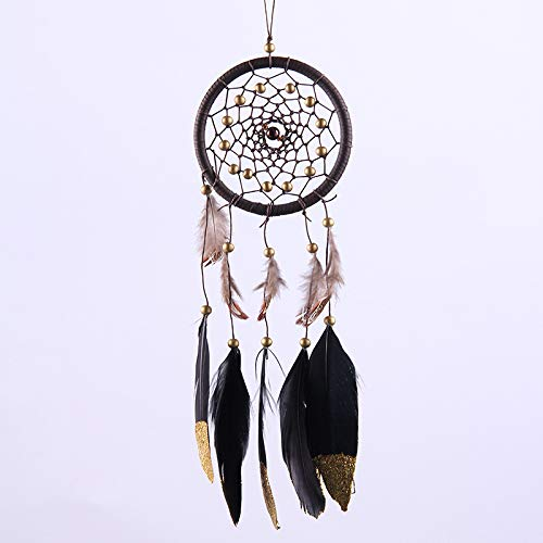 DaTun648 Indian Dream Lace Dream Catcher Ornamente Farbe Feder Kreativ Shop Dream Net Wind Bells Wie Gezeigt