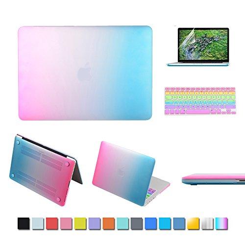 ic-iclover-macbook-air-338-cm-case-gummierte-matt-hard-shell-kunststoff-fall-passende-tastatur-haut-