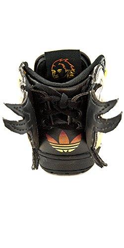 JS Flame I–Schuhe Baby Jungen Adidas Gelb - gelb