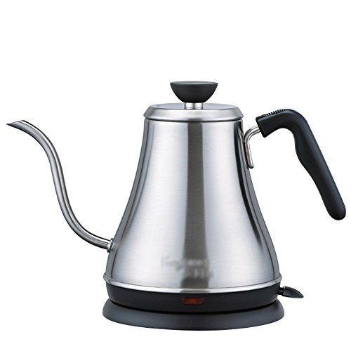 BCQ Electric Kettle Stainless Steel Color 0.8L 1000W Home Long Mouth Electric Kettles