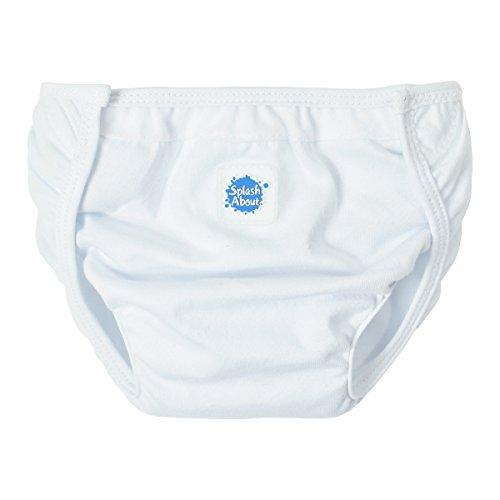 Splash About Kids Single Nappy Wrap - White