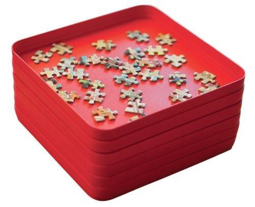 Jumbo 17953 - Stackable Sorters - Vassoio ordinamento per puzzle