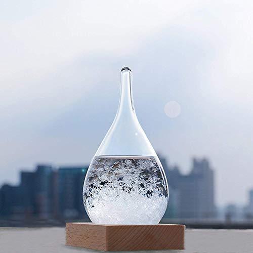 Welldone® Tempesta Di Vetro, Bottiglia Di Previsioni Del Tempo, Barometro Della Bottiglia Di Decorazione Della Casa Di Moda Creativa .