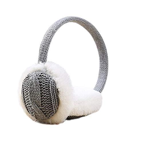 Wansan Winter Ohrenschützer Damen Weicher Gehörschutz Plüschge Ohrwärmer