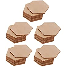hexagono madera - 2 estrellas y más - Amazon.es