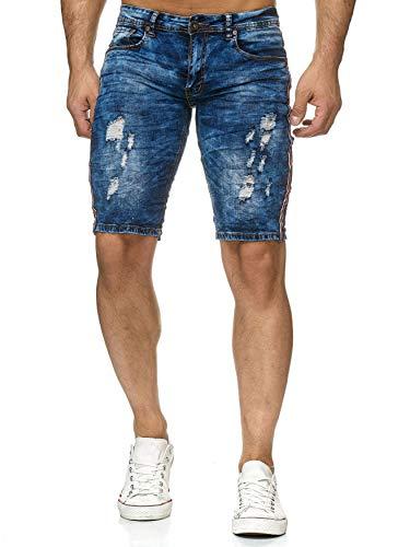 54a724c3d26c2 Pantalon Hommes Jeans Shorts Stretch Bermuda Denim H2229