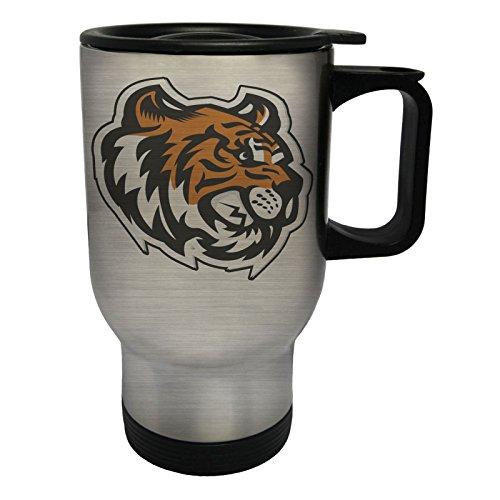 (Tiger Kopf Maskottchen-Logo Edelstahl Thermischer Reisebecher 14oz 400ml Becher Tasse u621ts)