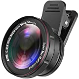 iBubble - 2 in 1 Camera Lens Kit with 0.45X Wide Angle Lens + 15X Macro Lens
