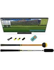 Tittle Unisex trugolf E6Edition Premium X Golf Simulator, schwarz