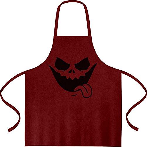 Halloween Jack O' Lantern Kürbis Gesicht Kochschürze, Grillschürze, Latzschürze One Size (Kostüm Ideen Beste Halloween Lustige)