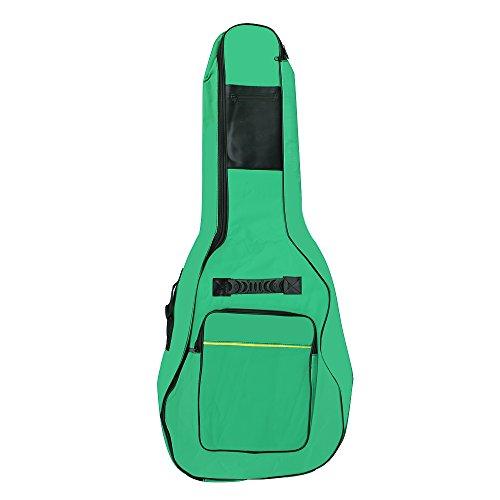 Accessotech voller Größe Akustik & Konzertgitarre gepolstert mit Tragetasche Tasche Halter grün -
