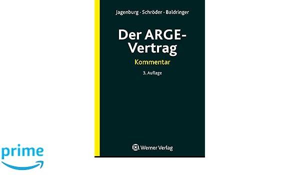 Der Arge Vertrag Amazonde Walter Jagenburg Bã¼cher