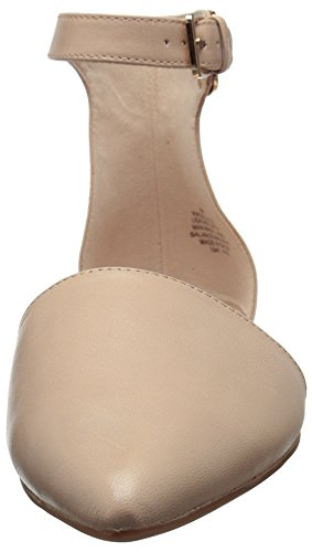 Nine West Osillyyou Leather Ballet Flat Light Natural