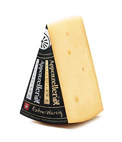 Appenzeller Käse 300g Extra EXTRA WÜRZIG Schweizer Käse KÜHLVERSAND