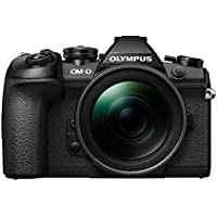 Olympus OM-D E-M1 Mark II Compact System Camera with 12 - 40 mm Lens Kit - Black