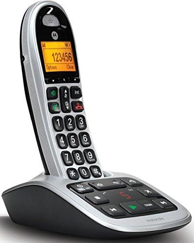 Motorola CD311 Schnurlostelefon schwarz/silber