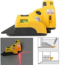 635nm Laser Line Projection Square Level Right Angle 90 Degree Measure Tool