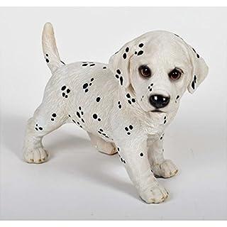 aucune Standing Puppy Garden Ornament Resin 28.5 x 17.5 x 24 cm