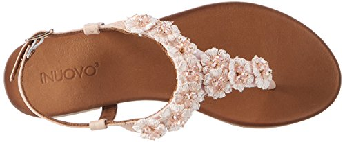 Inuovo - 7255, Infradito Donna Pink (Blush)