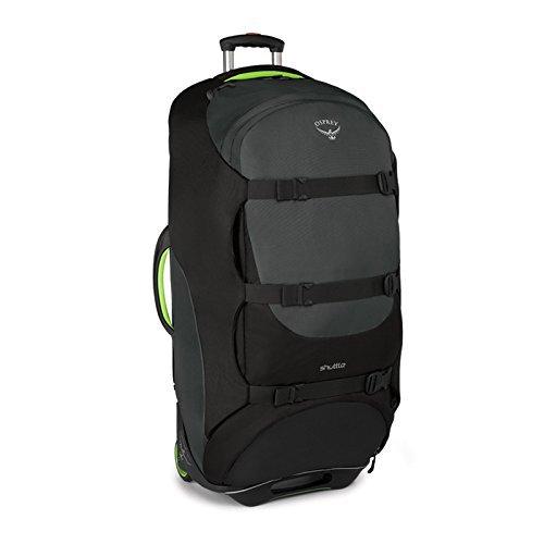 Osprey Shuttle 130 rolling case grey/black 2016 suitcase (Nylon-koffer Ballistic)