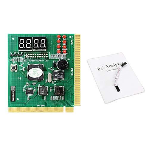 Monllack Maikou 4-stelliges Mainboard PCI-PC-Computer-Motherboard-Diagnoseanalyse-Kartenprüfgerät für Desktop PC