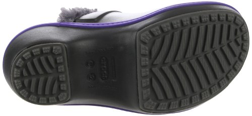 Crocs - - Enthousiaste fille Clog Christy femmes chaussures Black-Graphite